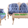 Sofa Set Mahogany Livingroom Furniture