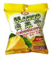 Vacuum Freeze dried Mango 20 g pack from Thai Ao Chi Fruits
