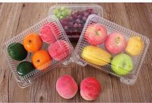 high quality disposable vacuum forming food grade fruit plastic container or fruit tray