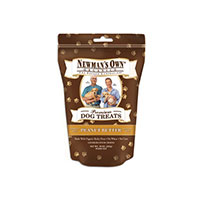 Organics Dog Treats, Medium Size Peanut Butter 10 OZ by Newman's Own Organics