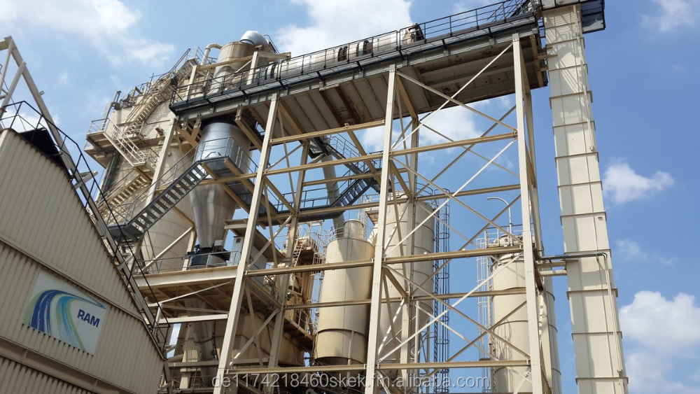 used Asphalt mixing plants AMMANN 160-180 t/h