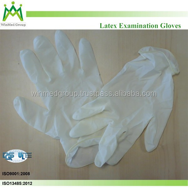 sterile latex examination glove