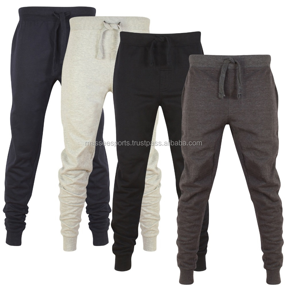 Wholesale men slim fit custom jogger