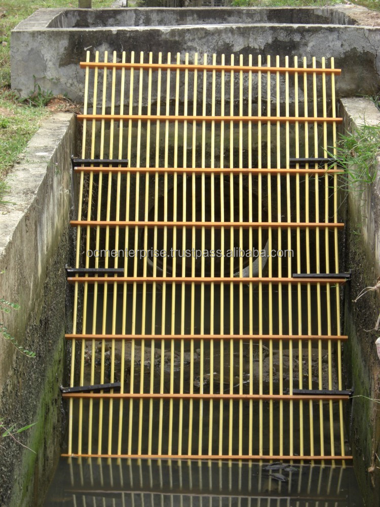 FRP Rubbish Screen, FRP Thrash Screen Grating, Fiberglass FRP Drain Screen