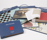 Buckram for Fabric sample book