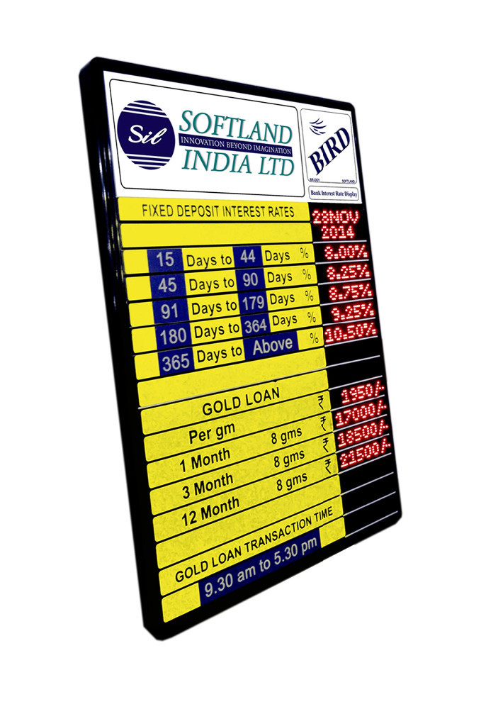 price display board