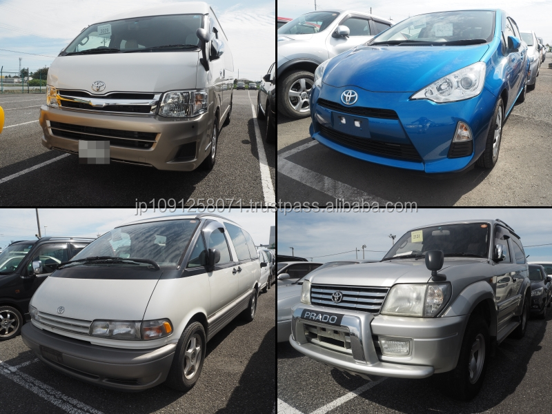 Reliable and Durable used suv right hand drive with good fuel economy made in Japan