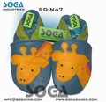 soft sole leather baby slipper