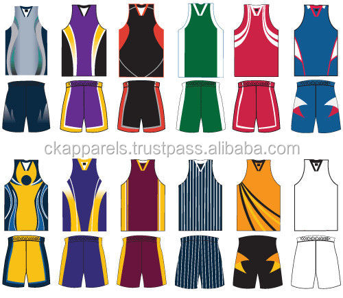 Digital Sublimation Basketball Uniforms Sublimated Basketball Jersey and Short