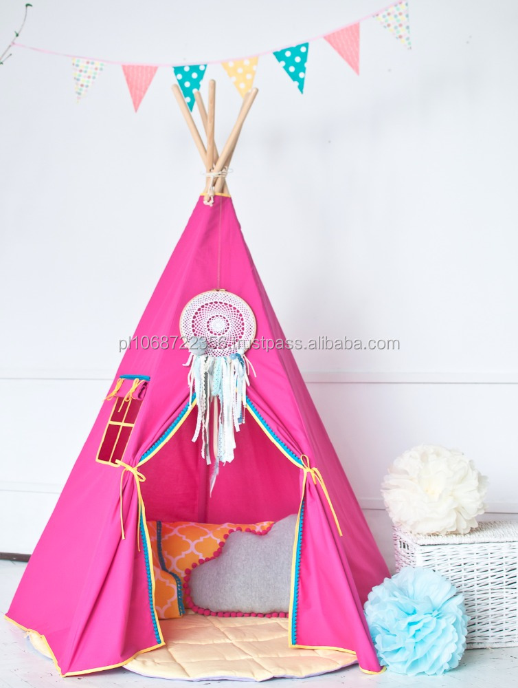 Kids Teepee Tent Made in Europe Handmade