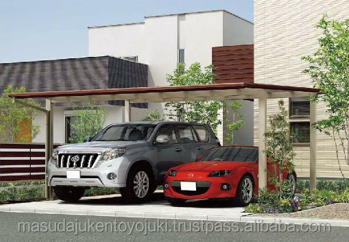 Reliable and Long-lasting car tent garage shelter carport by LIXIL