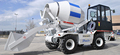 Self Loading Concrete truck mixer for building material