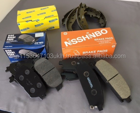 Genuine durable Nisshinbo brake pad made in japan , other car parts available