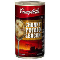 Campbell's Canned Soup Chunky Potato & Bacon 505g