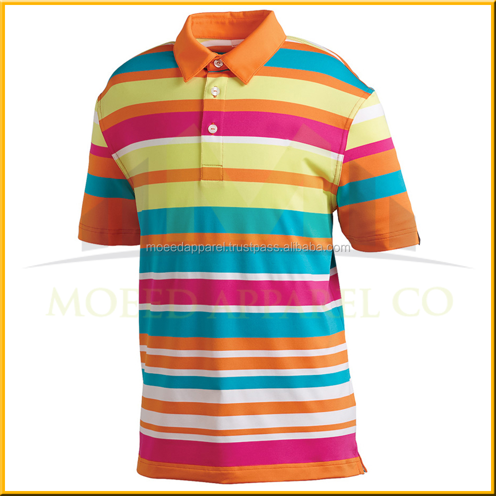 Online Wholesale Shop sale Black And Red Stripe Fashion Style Golf Polo T Shirt for male