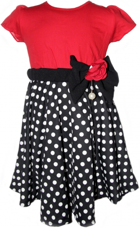 Polka Dot Monaco Dress 2151