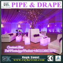 China wholesale pipe and drape/pipe and drape kits/used pipe and drape for balloons backdrop