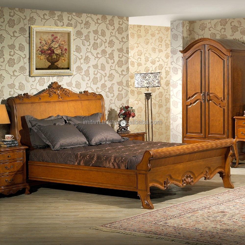 department store furniture factory offer wooden latest designs double bed