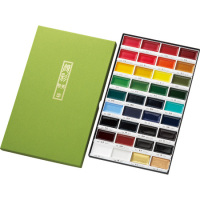 Hot-selling kansai paint Kuretake Gansai Tambi Water color Paints for Professional Artists
