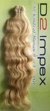 Virgin ombre human hair weave blonde extensions bundles free sample free shipping
