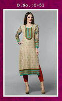 Soft Cotton Kurti for ladies