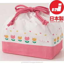 Best-selling and Classic lunch box office Pouch with superior durability made in Japan