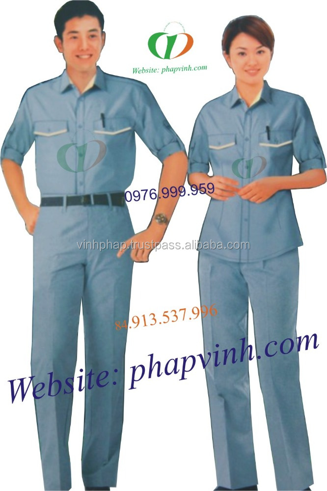 workwear and uniform high quality uniform in Viet Nam