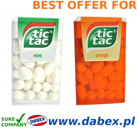 Ferrero Tic Tac 16g Orange Mint ~`www.dabex.pl