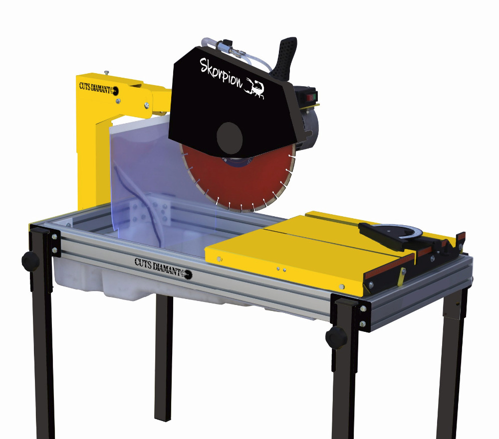 Masonry saw for building materials - TCD 400 Skorpion