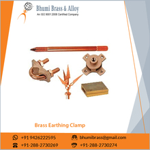 High Quality Brass Earth Rod U Shape Bolt Clamp