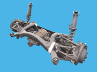 "USED CAR SPARE PARTS IN JAPAN ""REAR AXLE ASSY"" FOR TOYOTA, NISSAN, HONDA, MAZDA, SUZUKI ETC."