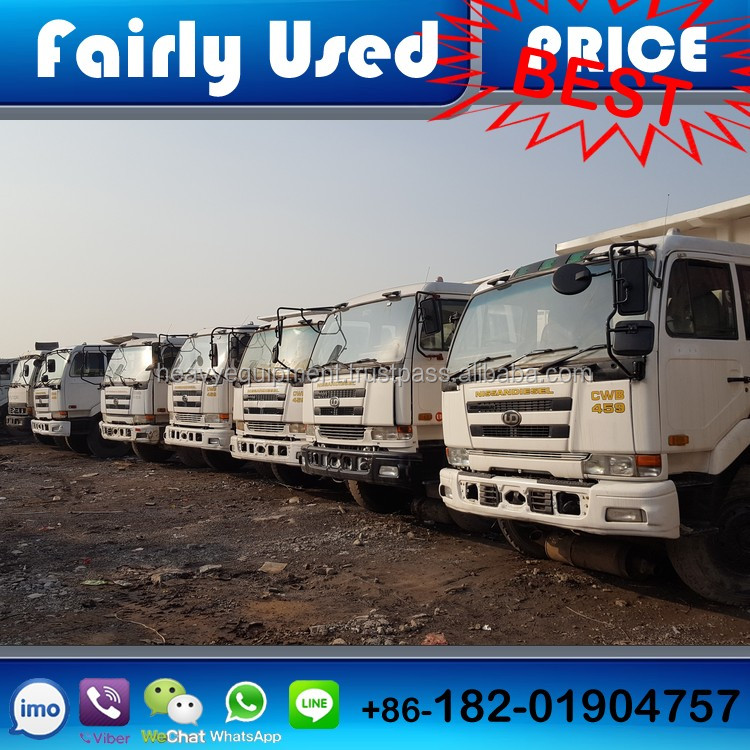 Cheap Japan Nissan UD used dump truck for sale