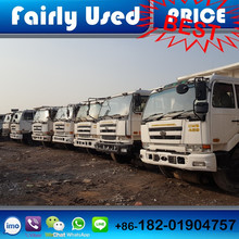 High quality Japan CWB459 Nissan UD used 6x4 dump truck for sale
