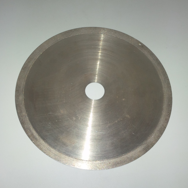 "DIAMOND SAW BLADE SIZE : 10"" X 1 mm X 1"" (455 grm) CUTTING FOR : GEM STONE, GLASS, ASPHALT, CERAMIC, MARBLE, GRANITE"