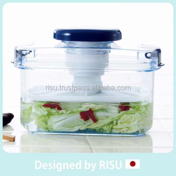 High quality and Delicious press pickle container with screw pressure type made in Japan