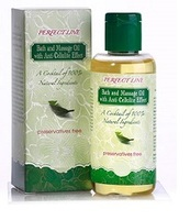 100% Natural - Perfect LIne - Anti-cellulite Bath and Massage Oil. 100ml, Made in EU.