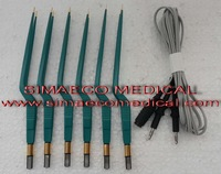 Bipolar forceps Non stick Gold tip & silicon Cables