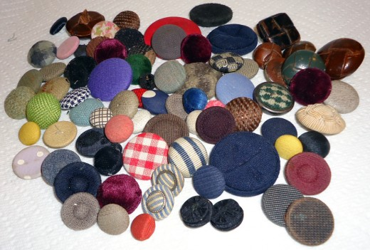 Fabric Button Covers
