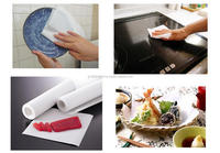 Durable and Handheld ground beef cooking paper with keeping of freshness made in Japan