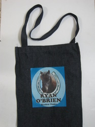 Horse Printed Printed Calico Bag