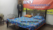 Pakistani RMY 134 top quality cotton printed bed sheets