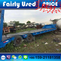 Used Truck Trailer of Tractor Trailer For 50 Tons Heavy Duty Machines