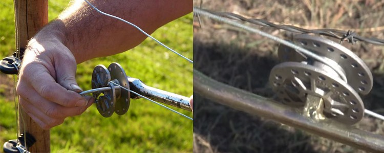 Electric Fence For Cattle Electric Fence Wire Strainer