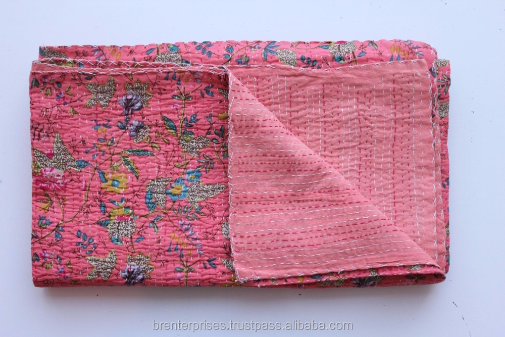 2016 latest alibaba kantha quilts for sale
