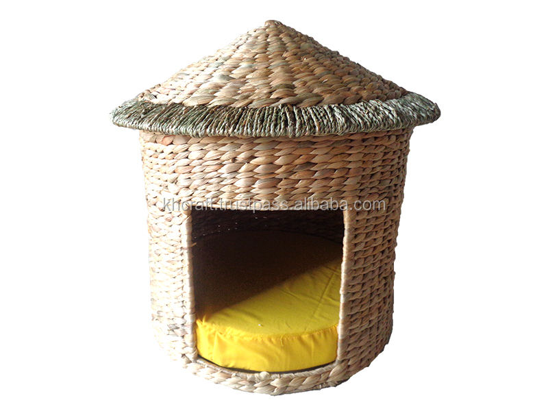 Nice natural house for your pet- water hyacinth pet house from Vietnam - Competitive price