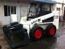 Used Bobcat Mini Skid Steer Loader, Japan Used Bobcat S150 Skid Steer Loaders