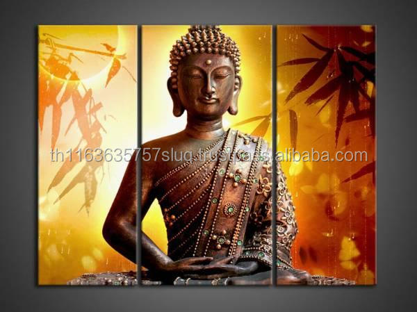 High Quality Buddha Oil Painting On Canvas