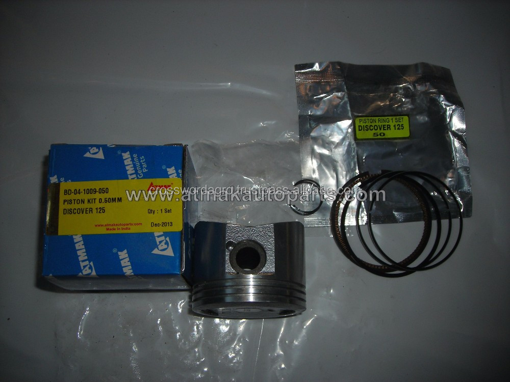 PISTON KIT 0.50mm FOR BAJAJ DISCOVER 125