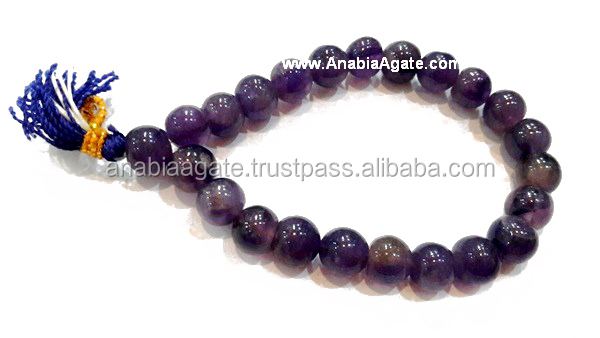 Amethyst Yoga Power Healing Bracelet : Wholesale Gemstone Bracelets