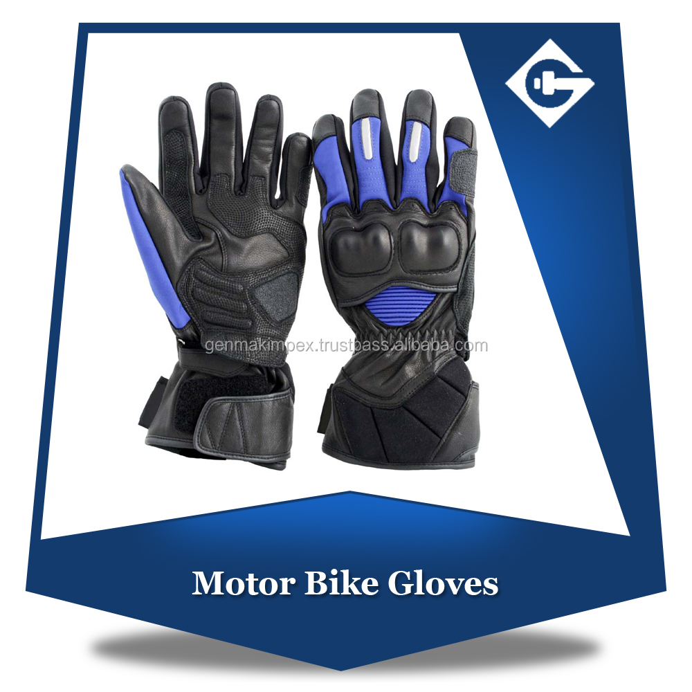 Waterproof Genuine Leather Bikers Kevlar Protection Motorbike
